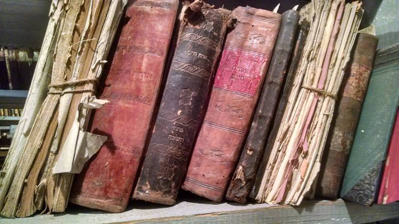 Hebrew Books at the Martynas Mazvydas National Library Bibliographic Center Awaiting Conservation